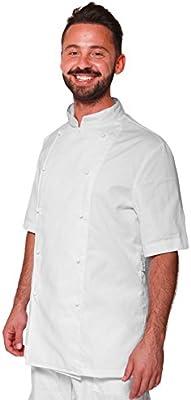 Chaqueta casaca Chef Verano Manga Corta Blanca Cocina Cocinero ...