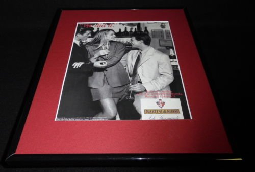 1991 Martini & Rossi Asti Spumante Framed 11x14 ORIGINAL Vintage Advertisement ()