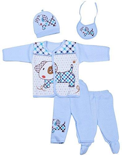 cabdffe6b482 Kuchipoo Winter Wear Baby Set (Blue