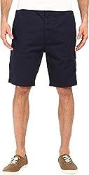 Nautica Men's Sail Cloth Poplin Cargo Shorts True Black Shorts 30 X 10
