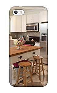 Brand New 5/5s Defender Case For Iphone (kitchen With White Cabinets And Island)
