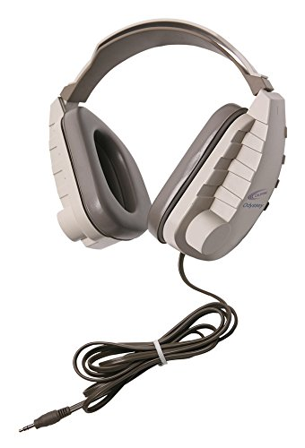 Califone OH-4V Odyssey Binaural Headphones, Light (Binaural Headphone)