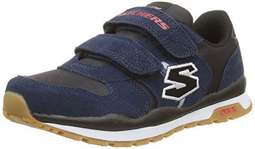 Skechers Throwbax, Zapatillas de Deporte Para Niños NVBK