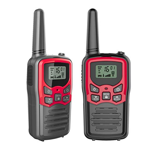 J&D T-WALKS 2Pcs Walkie Talkie Frequency Portable Ham Radio Custom Walkie-Talkie (Best Jd Surveillance Systems)