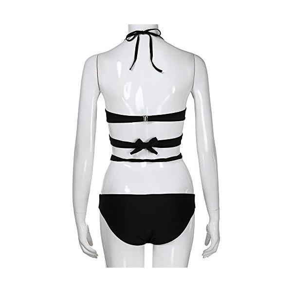 Rawdah-- 2020 2pcs Costumi Donna Mare Due Pezzi Push up Sexy Costume Donna Due Pezzi Bikini Donna Imbottito Reggiseno… 5 spesavip