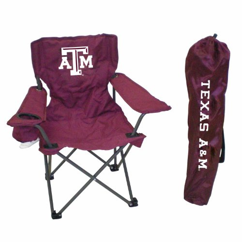 (Rivalry NCAA Texas A&M Aggies Youth Folding Chair With Carrying Case)