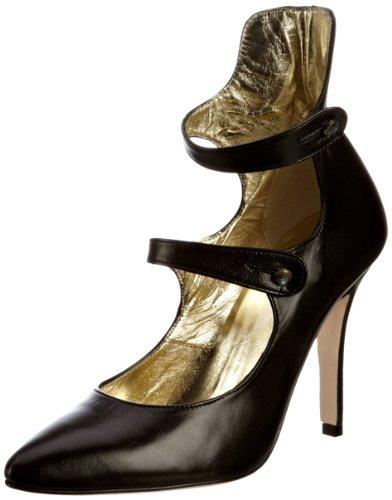 Freya Sonrissa Rose Black Mujer Zapatos Pawa de tacón rrwxZqzF