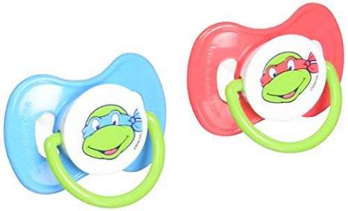 Nickelodeon Ninja Turtles Pacifier with Case, 2 Pack]()