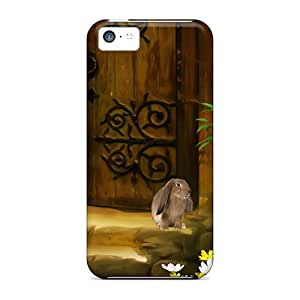 Hot Tpye Friends At The Door Case Cover For Iphone 5c by Maris's Diary