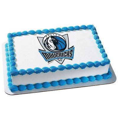 Outstanding Dallas Mavericks Licensed Edible Cake Topper 4763 Amazon Com Funny Birthday Cards Online Alyptdamsfinfo