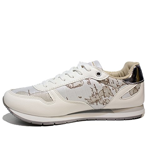1^ CLASSE Alviero Martini 1a Classe Sneaker White Woman Article P3A4-00418-0030X032 New Spring Summer Collection 2018 5mY59ttld