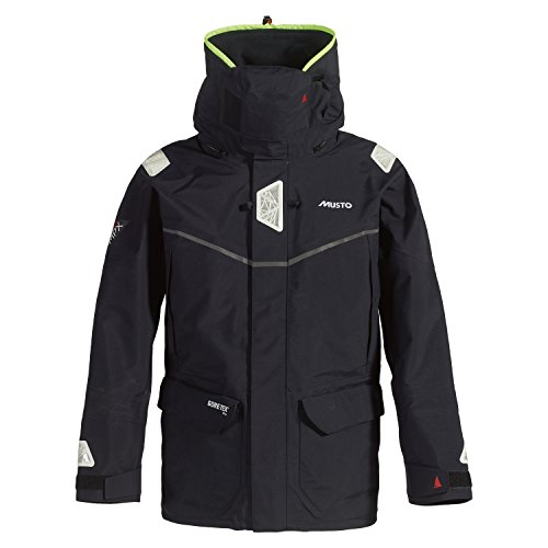 Musto MPX Offshore Jacket in Black SM1513 Sizes- - Large