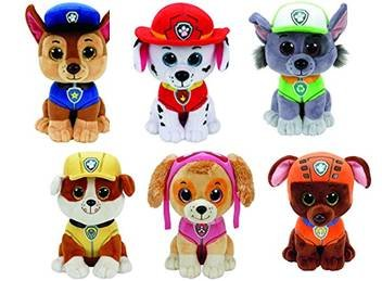 Authentic TY Paw Patrol Set of 6 - Beanie Boos - Plus Free Pack of Paw  Patrol Crayons - Buy Online in Oman.  0f88fe4d9f8