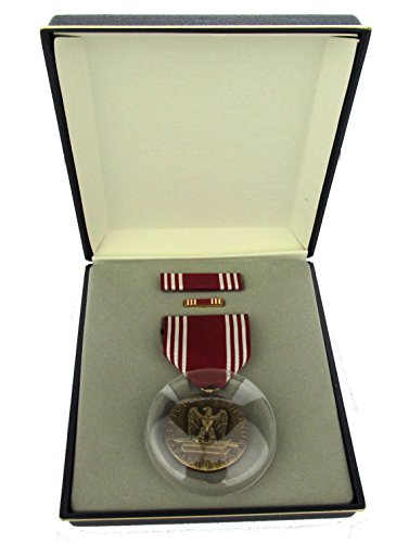 Good Conduct Full Size Medal Set with Presentation Case