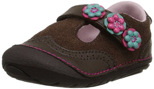 Stride Rite SM Shiela T-Strap (Toddler), Brown, 5.5 XW US Toddler