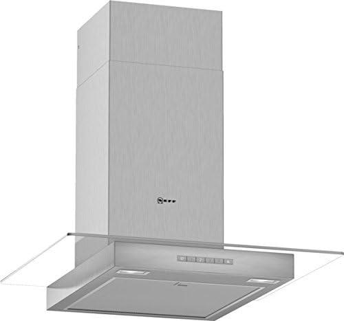 Neff DGBE641N 600 m³/h De pared Acero inoxidable A - Campana (600 m³/h, Canalizado, A, A, B, 62 dB): Amazon.es: Hogar