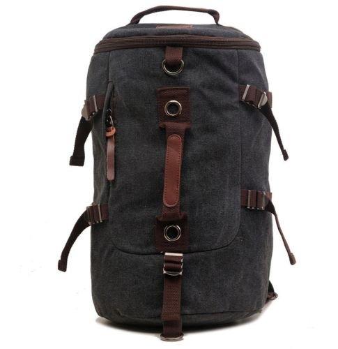 buibao de bolsa viaje equipaje de lienzo mochila de al libre hombro senderismo aire negro mochila bolsa viaje gimnasio 77OrqpwP