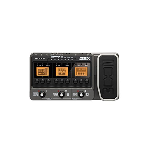Zoom G3X - Guitar Effects and Amplifier Simulator with Expression Pedal