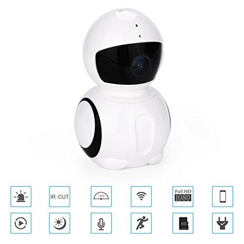 BCRTO 1080P Home Camera, Indoor Wireless IP Security