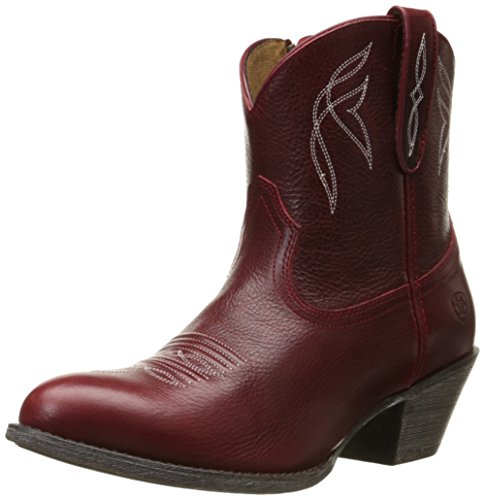 Ariat Women's Darlin Western Fashion Boot, Rosy Red, 9.5 B US