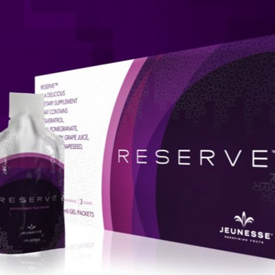 12 Box - 360 Packets Jeunesse Reserve Antioxidant Fruit Blend Gel Resveratrol by Jeunesse