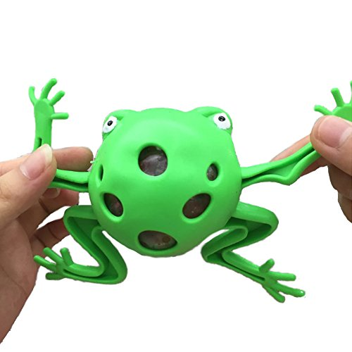 OVERMAL Toy Frogs Model Grape Venting Balls Squeeze Pressure Stress Ball Stress Relief Toy ()