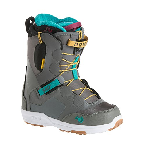 Northwave Domino Womens Snowboard Boots 2018 - 6.5/Grey