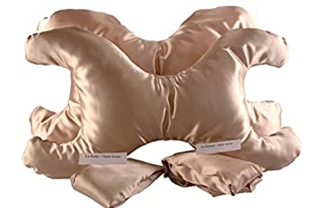 Save My Face Pillow Value Set in Satin Champagne Color