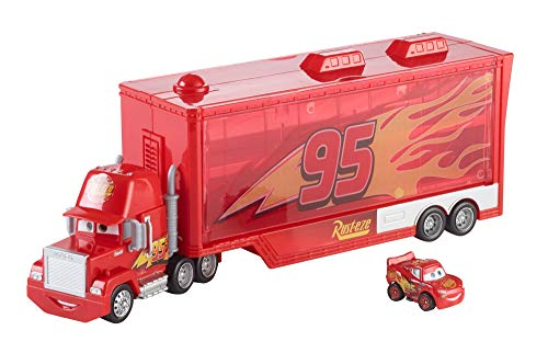 - Disney/Pixar Cars Mini Racers Mack Transporter