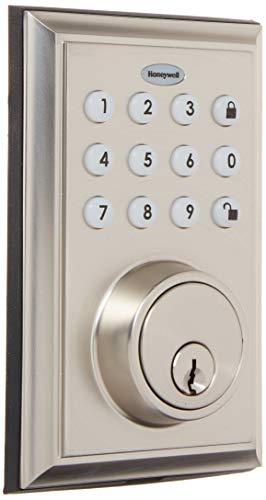 Honeywell 8812309S 1 BLE Electronic Entry Deadbolt with Keypad