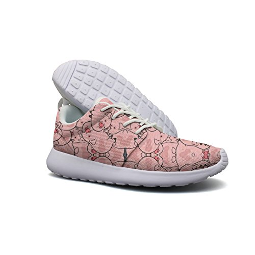Pig Cow First In Human Goat In Chinese Year Women's Ultra Lighweight Fashion Breathable Sneakers