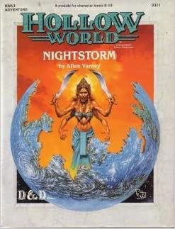 Nightstorm Hollow World Adventure 3 (Dungeons and Dragons Module)