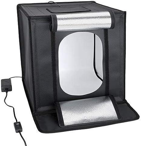 Caja de luz LED para Estudio fotográfico, 70 cm: Amazon.es: Electrónica