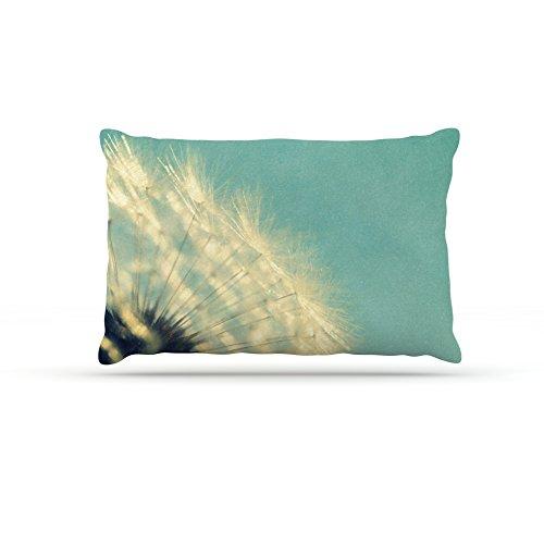 Kess InHouse Robin Dickinson Just Dandy  Fleece Dog Bed, 50 by 60 , bluee White