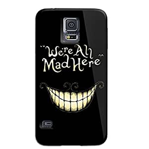 Alice in Wonderland We're All Mad Here Samsung Galaxy S5 Case