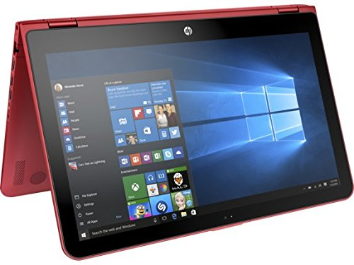 HP Pavilion x360 15t Touch 2-in-1 Convertible Laptop - Red (15.6