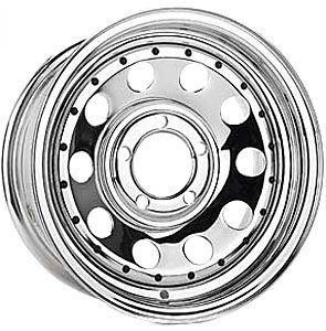 Cragar 3205160 Quick Trick I Wheel; Size: 15'' x 10'' (10' Valley Plymouth)