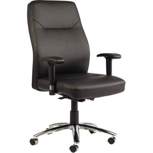 Alera LC Series Self-Adjusting Leather Chair
