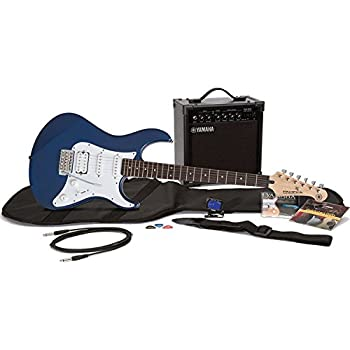 Yamaha Gigmaker Electric Guitar Package; Metallic Blue