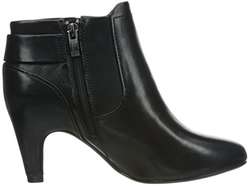 Clarks Lily Belle - Botas para mujer Black Leather
