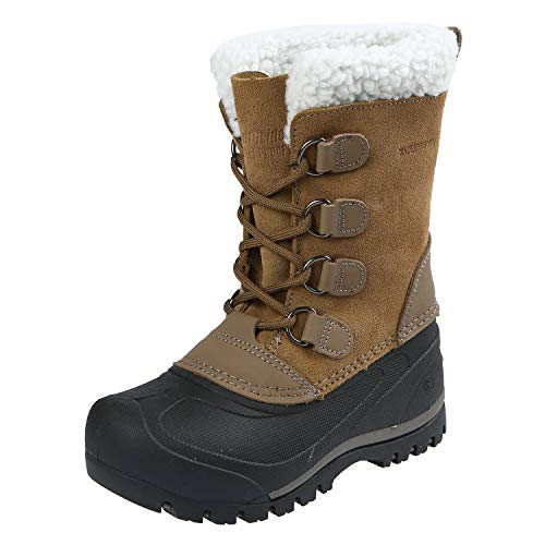 Country Snow - Northside Unisex Back Country Snow Boot, Sand, 2 Medium US Little Kid