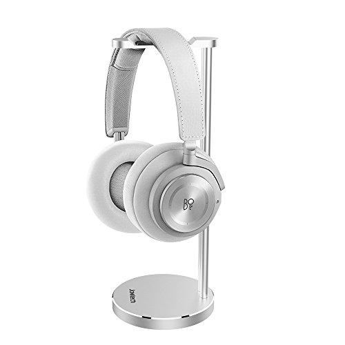 BeoPlay Headphone Bracket,Jokitech Aluminum Slim Headphone Stand, Suitable for Grado, Beats, Sennheiser, Sony, Audio-Technica, Bose, Shure, AKG, JBL, Logitech, Razer Gaming Headphones and More -Silver