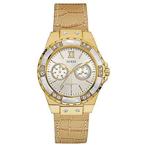 Guess W0775L2 - Reloj de Lujo para Mujer, Color Blanco/Dorado