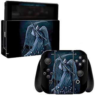 MightySkins Skin Compatible with Nintendo Switch - Death Reaper | Protective, Durable, and Unique Vinyl Decal wrap Cover | Easy to Apply, Remove, and Change Styles | Made in The USA