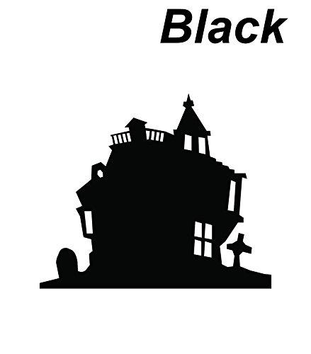 Black Seal cutting Castle Chateau Sticker - Brand Margiela