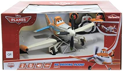 Majorette Planes - Rodante Dusty, avión radiocontrol, 3089803