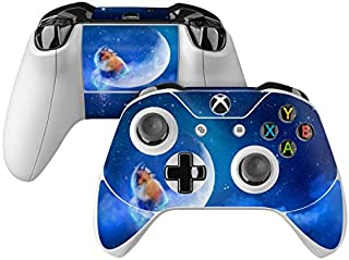product image for Moon Fox Skin Decal Compatible with Microsoft Xbox One and One S Controller - Full Cover Wrap for Extra Grip and Protection