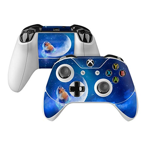 (Moon Fox Skin Decal Compatible with Microsoft Xbox One and One S Controller - Full Cover Wrap for Extra Grip and)