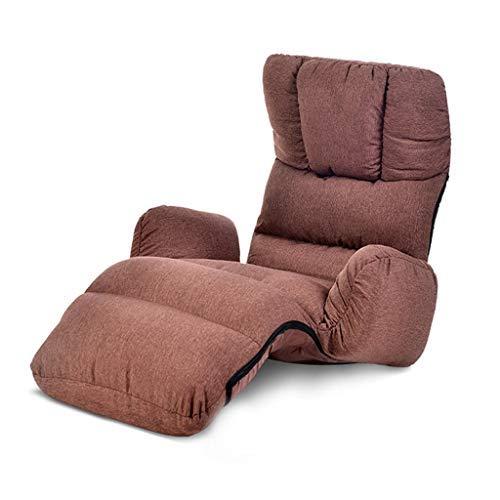 寝室怠惰なソファシングル出窓ソファベッド和風折りたたみソファリクライニングチェア多機能ラウンジチェアマルチレンジソファチェア耐荷重120キログラム B07SRWZG96