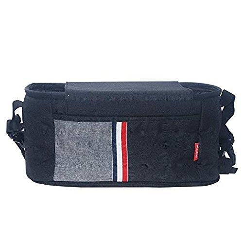 - Stroller Organizer, Sunzel Moisture-Proof Baby Stroller Bag with High-Capacity for Bottle, Diapers, Clothing, Toys, Cellphone etc. Black